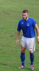 Alessio Piccini con la maglia della Vigor